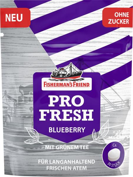Fisherman's Friend Pro Fresh Blueberry