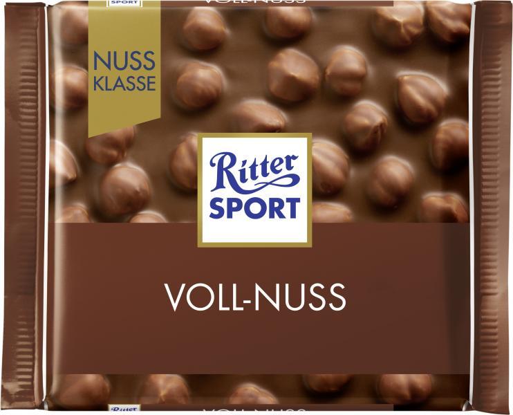 Ritter Sport Nussklasse Voll-Nuss