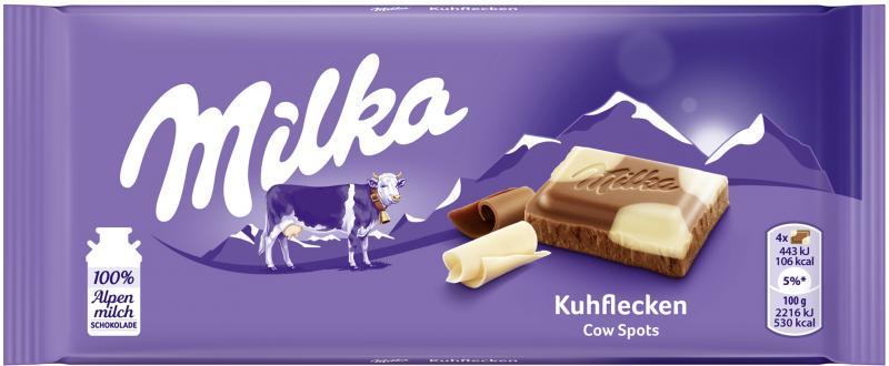 Milka Tafel Kuhflecken