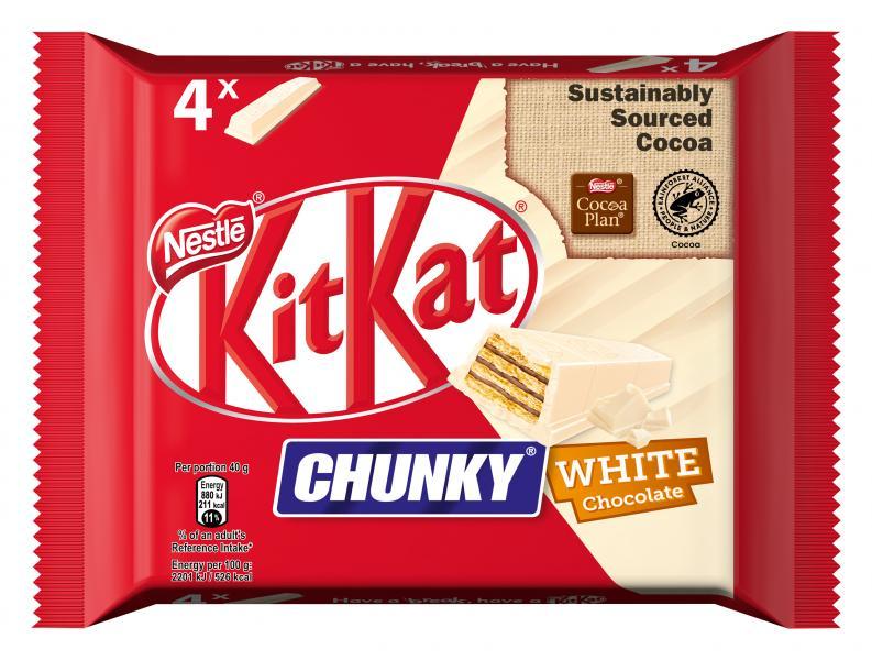 Kitkat Chunky White Multipack