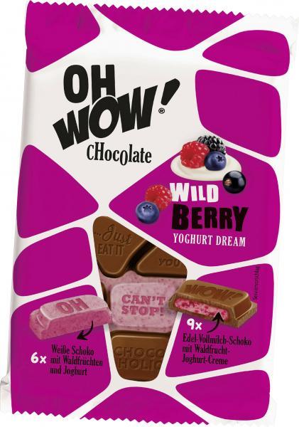 Oh Wow! Chocolate Wild Berry Yoghurt Dream