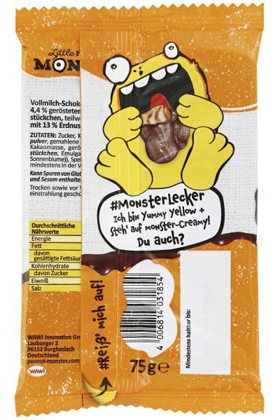 Little Peanut Monster Schokolade Creamy