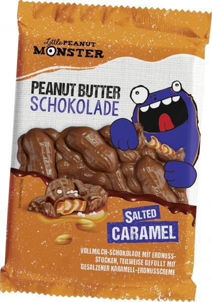 Little Peanut Monster Schokolade Salted Caramel