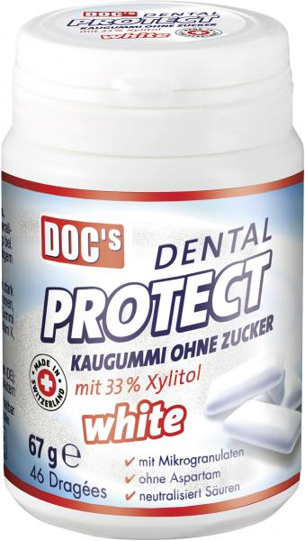 Doc's Dental Protect Kaugummi ohne Zucker white