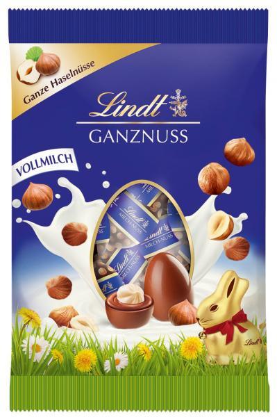Lindt Mini-Eier Ganznuss Vollmilch