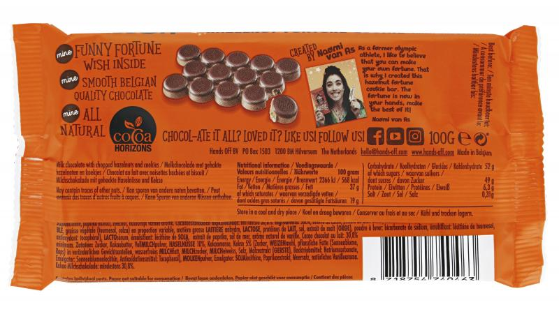 Hands Off my Chocolate Hazelnut Fortune Cookie