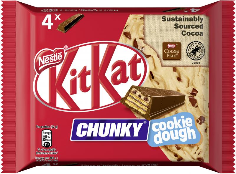 Kitkat Chunky Cookie Dough Multipack
