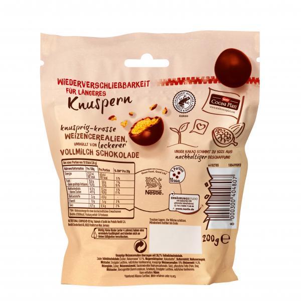 Nestlé Choco Crossies Crunchy Balls Vollmilch