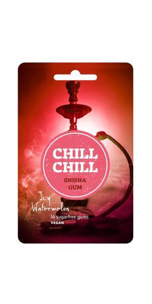 Chill Chill Shisha Gum Icy Watermelon