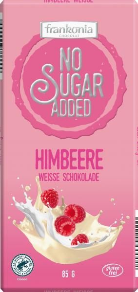 Frankonia No Sugar Added Weisse Schokolade Himbeere