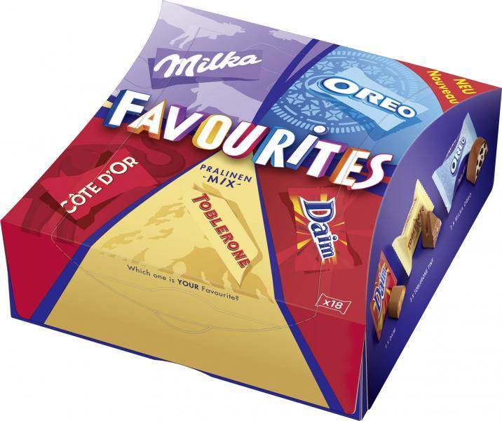 Milka Favourites Praline-Mix
