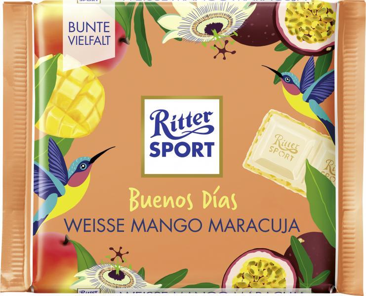Ritter Sport Bunte Vielfalt Weisse Mango Maracuja