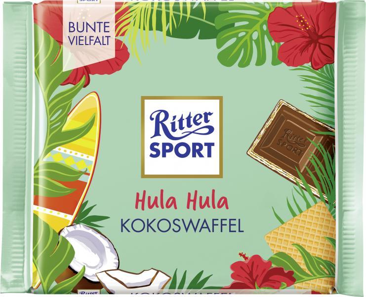 Ritter Sport Bunte Vielfalt Kokoswaffel