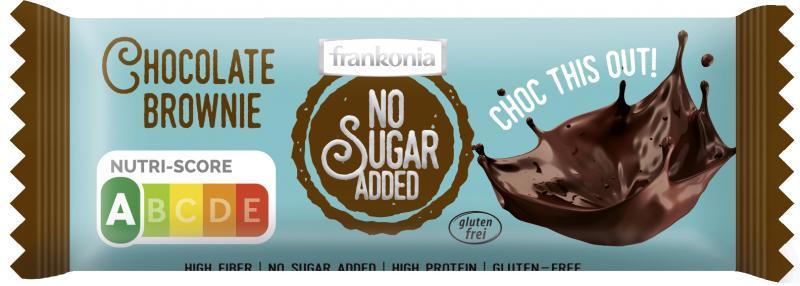 Frankonia No Sugar Added Riegel Chocolate Brownie