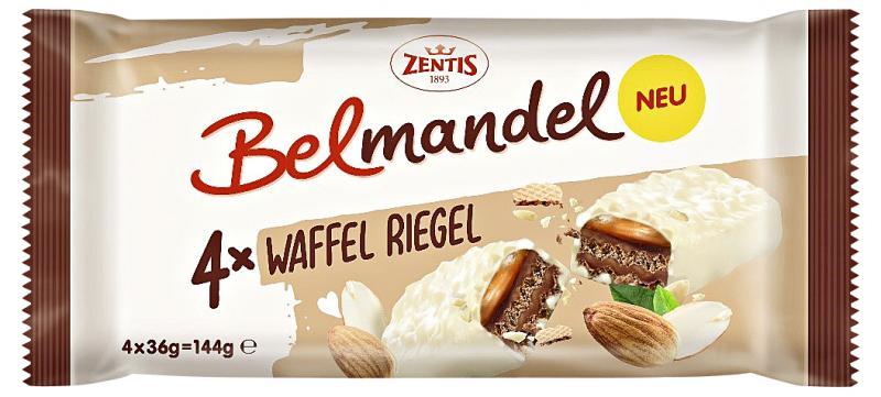 Zentis Belmandel Waffel Riegel