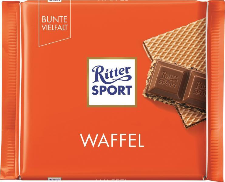Ritter Sport Bunte Vielfalt Waffel