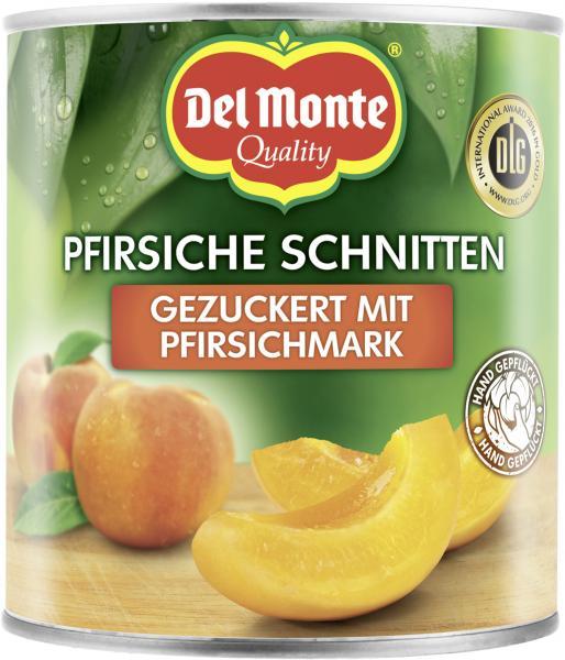 Del Monte Pfirsiche Schnitten mit Pfirsichmark gezuckert
