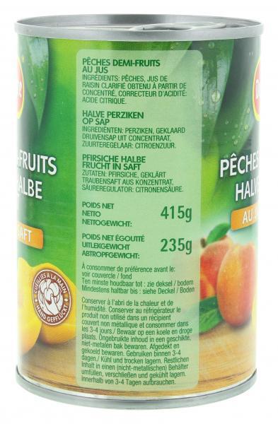 Del Monte Pfirsiche halbe Frucht in Saft