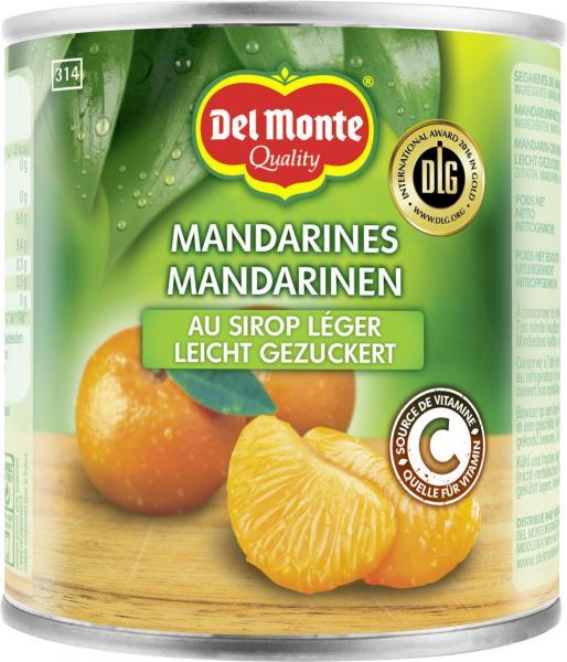 Del Monte Mandarinen leicht gezuckert