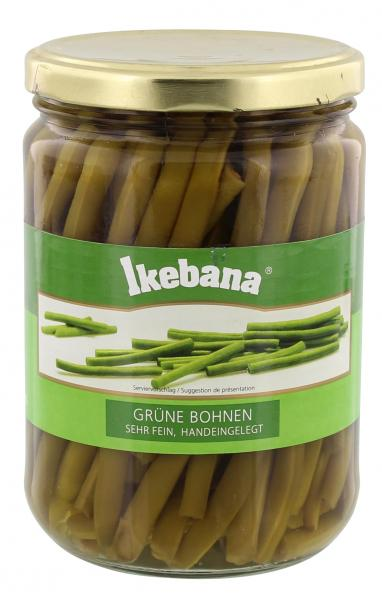 Ikebana Grüne Bohnen sehr fein