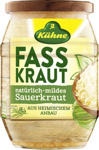 Kühne Fasskraut Sauerkraut natürlich-mild