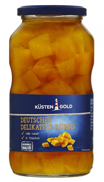 Küstengold Deutscher Delikatess Kürbis süß-sauer