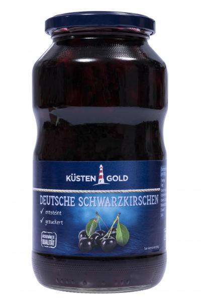 Küstengold Deutsche Schwarzkirschen