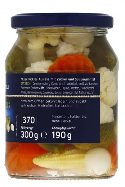 Küstengold Mixed Pickles