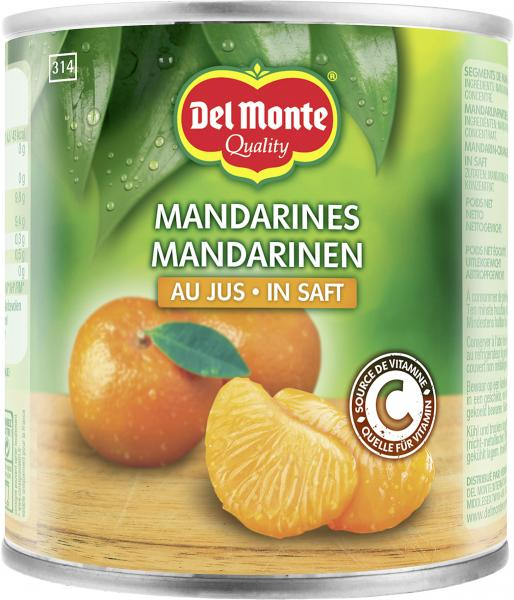 Del Monte Mandarinen in Saft