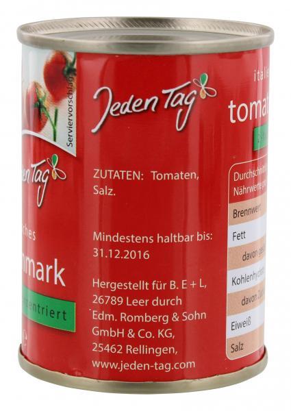 Jeden Tag Italienisches Tomatenmark 2-fach konzentriert