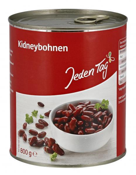 Jeden Tag Kidney-Bohnen