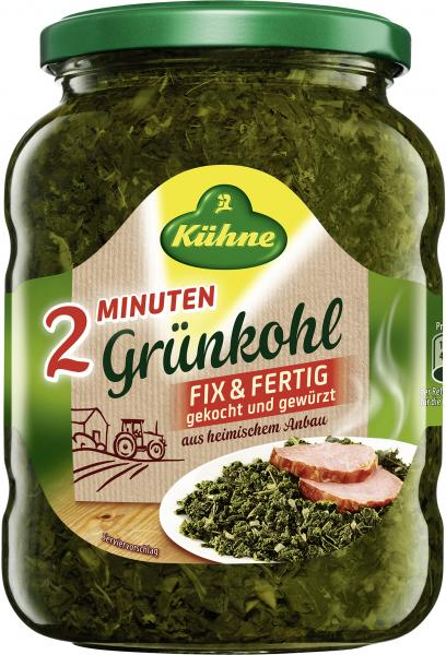 Kühne Grünkohl 2 Minuten fix & fertig