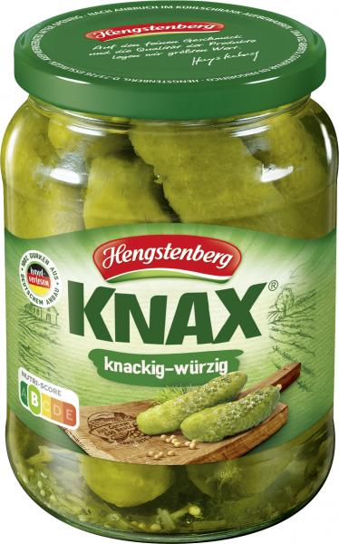 Hengstenberg Knax Gewürzgurken knackig-würzig