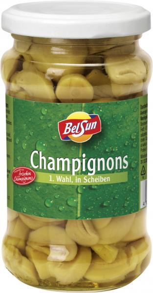 BelSun Champignons in Scheiben 1. Wahl