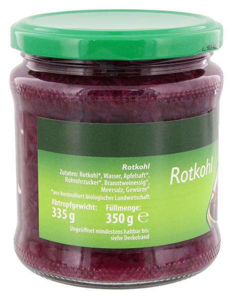 NaturWert Bio Rotkohl