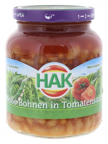 Hak Weiße Bohnen in Tomatensauce