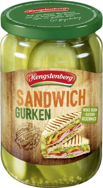 Hengstenberg Sandwich-Gurken