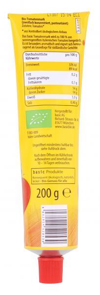 Basic Bio Tomatenmark 2-fach konzentriert