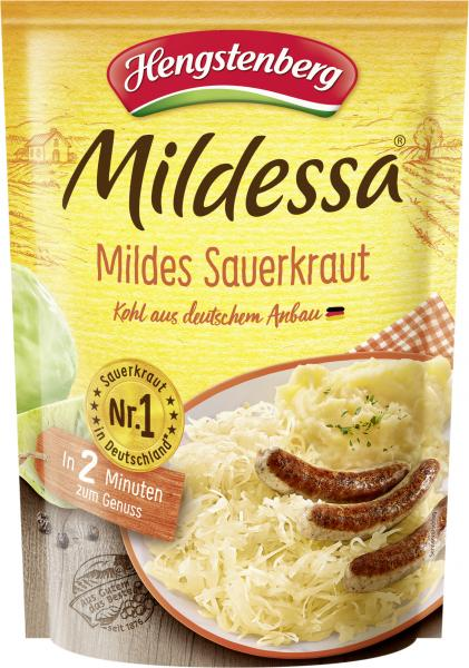 Hengstenberg Mildessa Sauerkraut mild