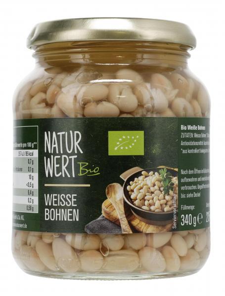NaturWert Bio Weisse Bohnen
