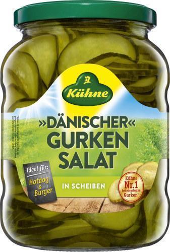 Kühne Dänischer Gurkensalat