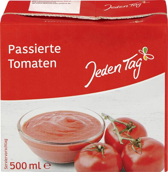 Jeden Tag Passierte Tomaten
