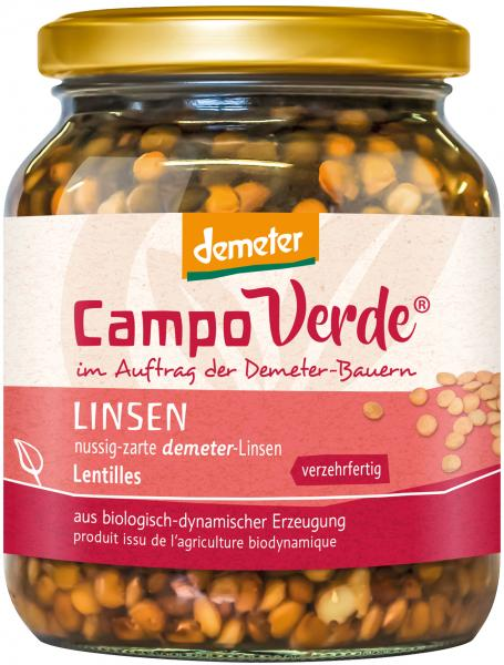 Campo Verde Demeter Linsen
