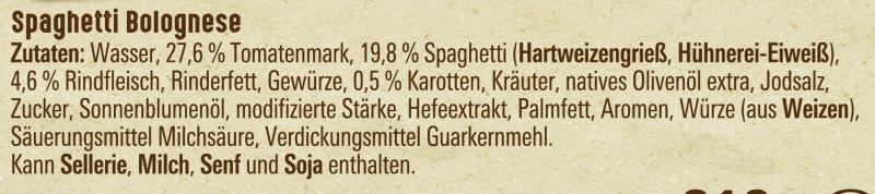 Maggi Spaghetti Bolognese, tomatig-würzig