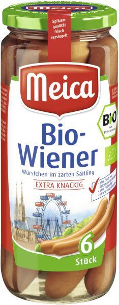 Meica Bio-Wiener im zarten Saitling