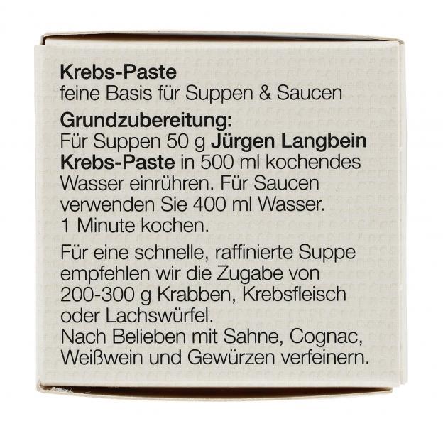 Jürgen Langbein Krebs-Paste