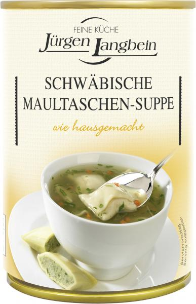 Jürgen Langbein Schwäbische Maultaschen-Suppe