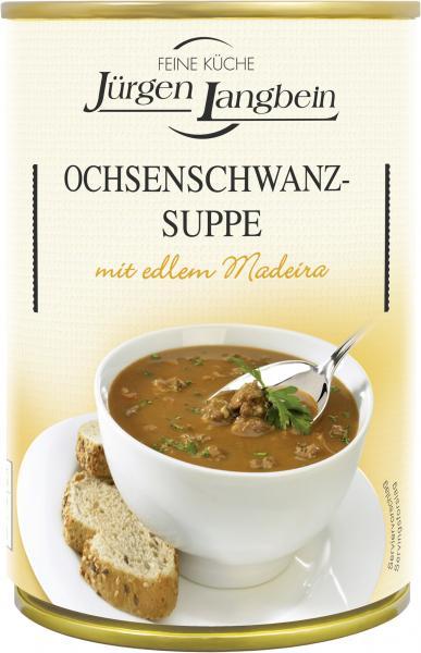 Jürgen Langbein Ochsenschwanz-Suppe