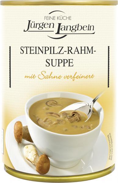 Jürgen Langbein Steinpilz-Rahm-Suppe