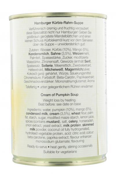 Jürgen Langbein Hamburger Kürbis-Rahm-Suppe